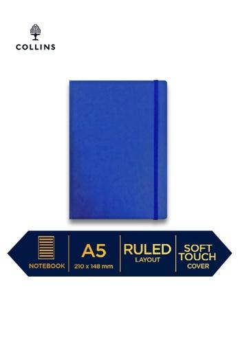 Collins blue Collins Legacy  ─  NotebookA5 Ruled Blue 4C6C6HL335FF29GS_1