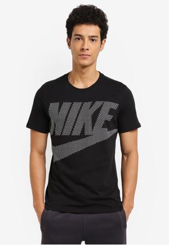 Nike black and white Men's Nike Sportswear T-Shirt C17A6AAF520C98GS_1