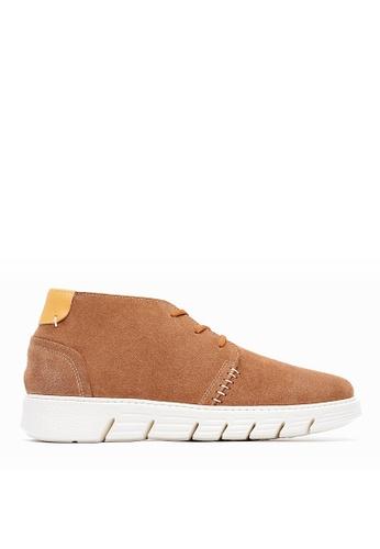 Life8 brown Men casual boots-09681-Brown LI286SH0SC7VMY_1