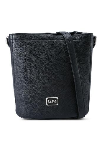 Furla black Drawstring Bucket Bag D1F42AC6B02E81GS_1