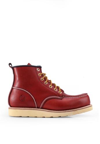 lumberjacks orange Chukka Boots E1DC7SHA262F56GS_1