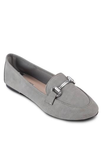 Leesprit 衣服xi 金屬飾樂福鞋, 女鞋, 鞋