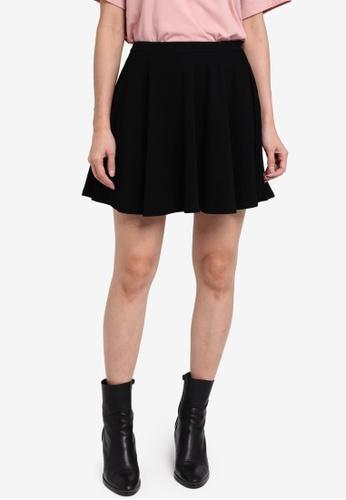 Something Borrowed black High Waist Skater Skirt D9572AA933E1F0GS_1