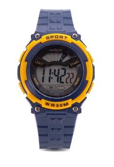 Unisex Rubber Strap Watch MXPO-637E