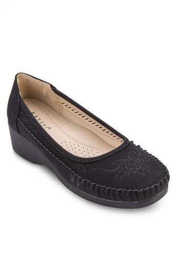 繡花厚zalora 台灣門市底休閒鞋, 女鞋, 鞋