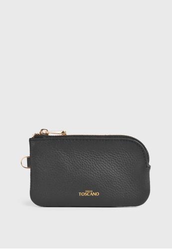 Tocco Toscano black Aimee Coin Pouch (Black) EFC1FAC460BDEDGS_1