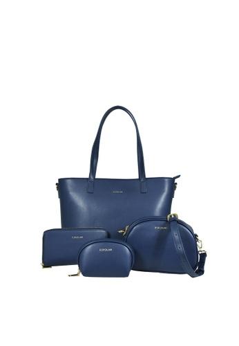 Esfolar Esfolar Aurora 4-IN-1 PU Leather Handbag Set 08CFAAC04E49AEGS_1