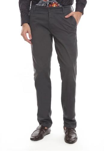 Manzone grey GASPARDO-BESTBUY-D/GREY Trouser 69302AAAC13357GS_1