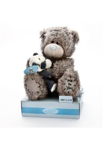 Her Jewellery Me to You Plush Toys - 6″ Tatty Teddy Holding Binky the Panda 2CE96TH3CDEE6DGS_1