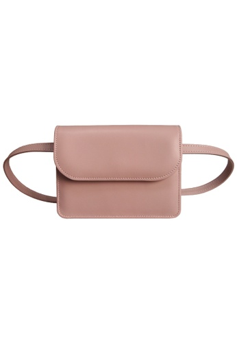 72 SMALLDIVE pink 72 Smalldive Unisex Buffed Leather Belt Pouch D6184AC5480D0CGS_1