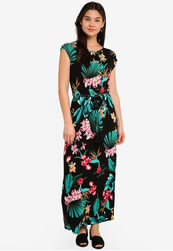 Dorothy Perkins multi Tassel Front Maxi Dress 47165AAA521A43GS_1