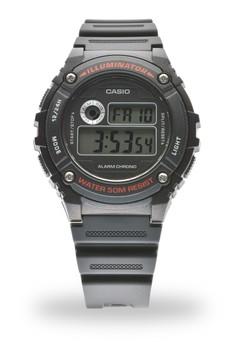 Digital W-216H-1A Watch