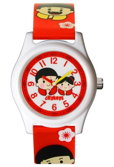 Chinese Doll / Child Hong Kong Octopus Watch