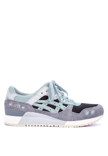 ASICSTIGER blue and multi GEL-Lyte III Sneakers A934DSH671099EGS_1