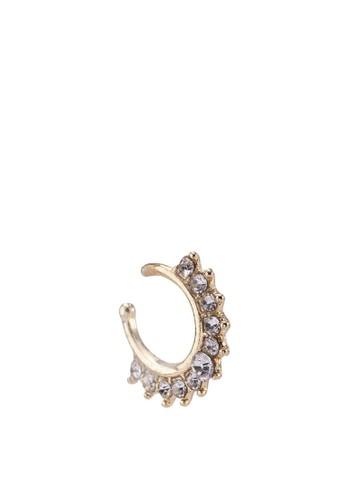 水晶鼻環夾, 飾品配件, 飾品esprit 台中配件