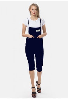 25a5985a6654 Vintage Arny Overall Jumpsuit in Navy 771E9AA8648152GS 1