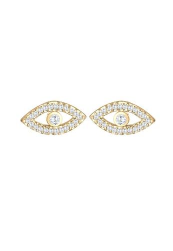 ELLI GERMANY gold Zirconia Crystals Gold Plated Earrings 19EC5AC0AE2B8DGS_1