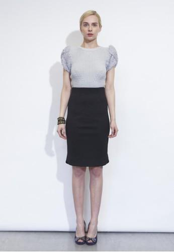 短袖針織衫, 韓系時尚, zalora 台灣上衣