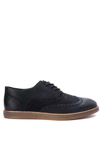 Mendrez black Lucas Formal Shoes ME992SH0KFLHPH_1