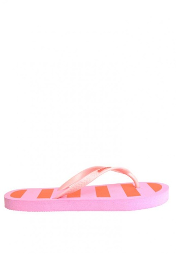 BENCH pink Rubber Slippers BE550SH0JXPLPH_1