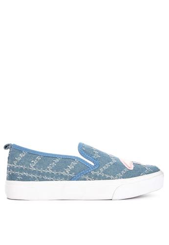 BENCH blue Flamingo Detail Slip Ons C56C5SH6C9E318GS_1