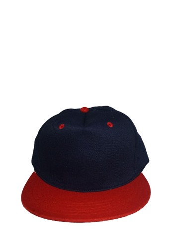 Rumah Topi red and navy SNAPBACK NAVY RED 98F09ACC2C1A73GS 1 aab61df2da