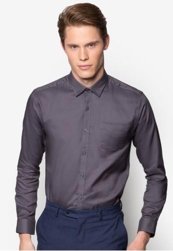 esprit香港分店地址修身長袖襯衫, 服飾, 襯衫