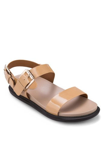 基本款踝帶涼鞋, 女鞋, zalora 衣服評價涼鞋