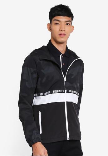 Hollister black Camo Block Jacket B12C1AAFAA3F13GS_1
