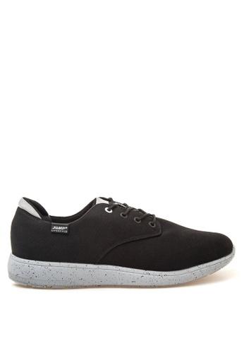 Jump black Glitter Sneakers JU701SH18YZTPH_1