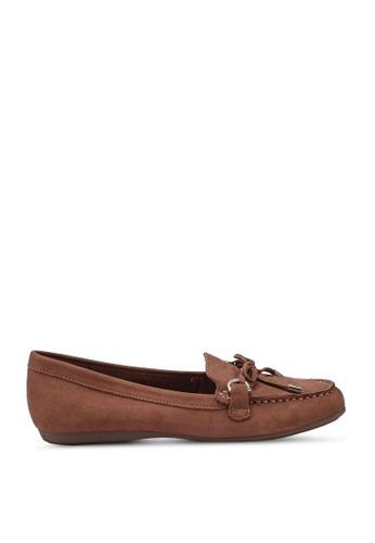 ALDO brown Adrerinia Driver Loafers E11FASH870F1E4GS_1