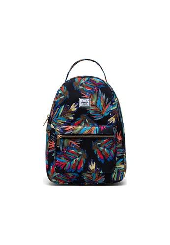 Herschel blue Herschel Nova Small Backpacks - Painted Palm A25A4AC09F5FB5GS_1