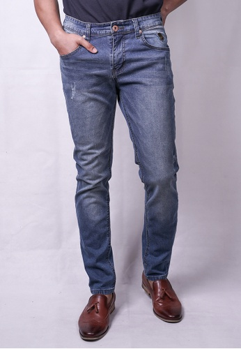 MILANO blue Milano Jeans Long Pant Tight Fit Stretchable 7F3C1AA08B0B24GS_1
