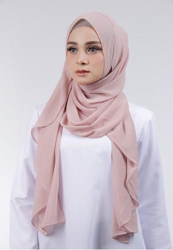 Cantik Kerudung pink Adela Instant 4290DAADDD5C8BGS_1
