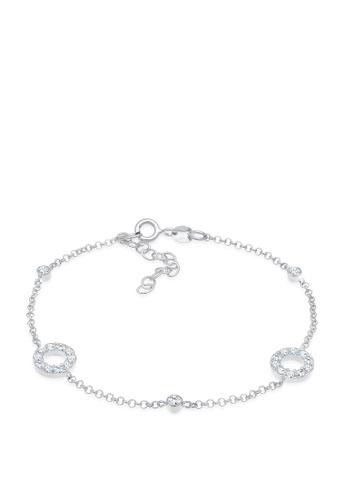 ELLI GERMANY white Bracelet Vintage Crystals E9BC6AC69E3751GS_1