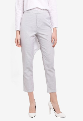Zalia white Tailored Pants 5A2E8AAFCAD2DAGS_1
