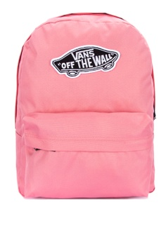 f5f9699cef VANS pink Realm Backpack E6373AC8A14815GS 1