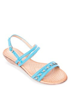 Darlene Wedge Sandals