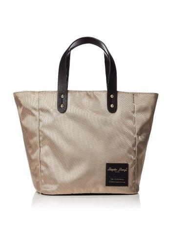 Anello grey [Legato Largo] Water-Repellent Nylon Mini Tote Bag-LT-T0011 GREY EBF7EAC7CAFC2DGS_1