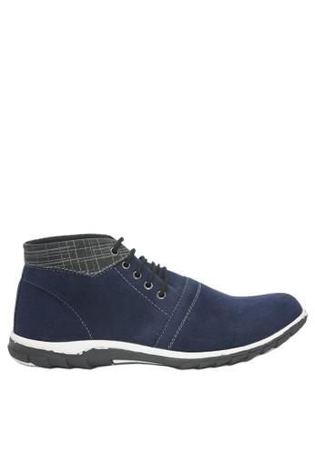 Dr. Kevin blue Dr. Kevin Men Casual Boots 1050 - Blue D68ECSH90053ACGS_1