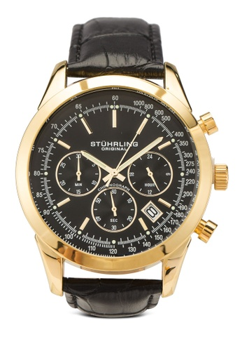 Stuhrling Original gold Rialto 3975L Watch D2039AC04CF4D8GS_1