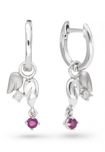 JEOEL red JEOEL Ruby Angel Earrings B546AAC15CFE7DGS_1