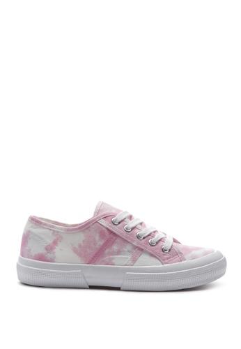 London Rag 粉紅色 扎染运动鞋 3926BSH29EDFEBGS_1