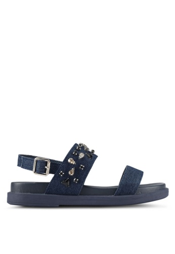 Bata blue Skylar Sandals FF41ASH3E0742FGS_1