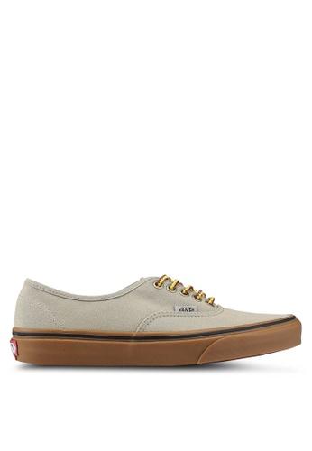 VANS green Authentic Gumsole Sneakers 7B2D4SHA9D64D8GS_1