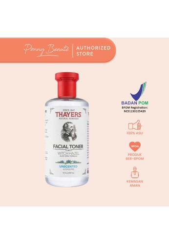 Thayers red Thayers Witch Hazel Facial Toner - Unscented 355ml 10D5EBE49FA3A7GS_1