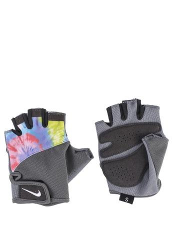 Nike multi Women's Printed Gym Elemental Fitness Gloves 8B3FBAC6FABEBCGS_1