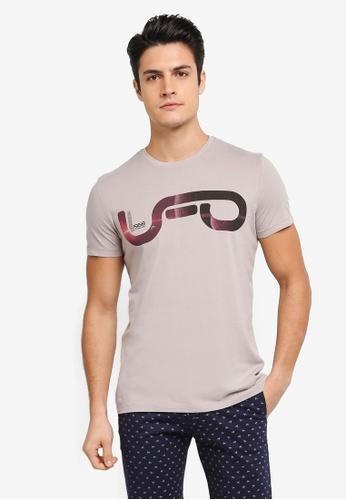 ESPRIT grey Short Sleeve T-Shirt ES374AA0T18RMY_1