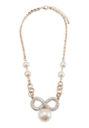 esprit 中文無限可能珍珠項鍊, 飾品配件, 清新俏皮
