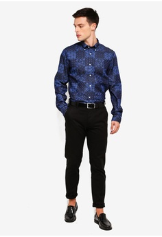 ad7a83cf 45% OFF Brooks Brothers Red Fleece Indigo Bandanna-Print Denim Sport Shirt  S$ 135.00 NOW S$ 73.90 Sizes S L